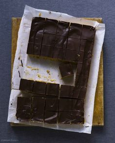 No bake peanut butter squares. Since Graham crackers are not available here, substiute can be any of the below: :) Stale cake crumbs Crumbled gingersnaps Crumbled vanilla wafers Beat-up Oreos