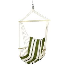 Blue Sky Outdoor Hanging Chair with Armrests and Free Hammock Straps ** Be sure to check out this awesome product.