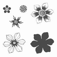 Stamp  Scrap with Frenchie: Stampin'101 Beautiful Bunch easy mont for Fun Flower punch