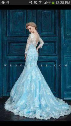 ELSA INSPIRED DRESS!!