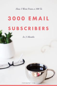 Want to grow your email list. Here is the one simple strategy that helped me go from 100 to 3000 subscribers in 3 months. Thats a growth of 2250% - Whoa! Click to read now!