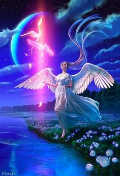 Angels  promote closeness and foster tenderness.  ^i^  ♡  ^i^