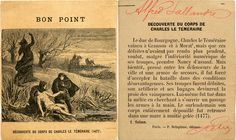 Bon point - Découverte du corps de Charles Le Téméraire (1477) (from http://souvenirsdecole.com/picture?/146) Éditeur P. Delaplane, éditeur, Paris