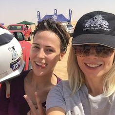 Something about this morning) we are the champion!!!! Cool iron girl @nesterova.jenya ! Emirates Desert Championship! #emiratesdesertchampionship #motocrosslife #motogirl #innaleedubai #motorsport #uae #rally #enduro #endurosport