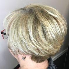 6 Wondrous Ideas: Messy Hairstyles With Headbands older women hairstyles coloring.Asymmetrical Hairstyles Undercut older women hairstyles grey.Little Girls Hairstyles. Wedge Hairstyles, Hairstyles Over 50, Undercut Hairstyles, Short Undercut, Latest Hairstyles, Hairstyle Hacks, Fine Hairstyles, Brunette Hairstyles, Everyday Hairstyles