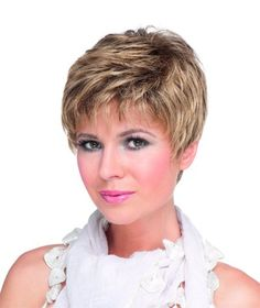 Shop now for the best women's wigs & ladies hairpieces at the cheapest wig prices in the UK. We only sell genuine real natural human & fibre hair wigs for women. Hair Styles For Women Over 50, Short Hair Older Women, Haircut Styles For Women, Short Haircut Styles, Short Grey Hair, Long Hair Styles, Short Wavy, Short Hairstyles Over 50, Thin Hair Haircuts