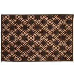 Sweet Home Collection Savoy Brown Area Rug