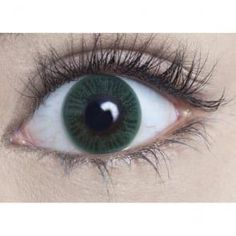 Natural Coloured Contact Lenses - Sea Green (Usage:1,3,12 Months - 1 Pair)