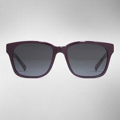 f32581f24176 Square Burberry Spark Sunglasses in violet Burberry Sunglasses