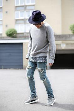 Yeezy Boost 350 (On Feet) | Jude J Taylor | Men's Fashion & Lifestyle Blog