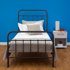 simple single bed sweet - Steel Frame Bed