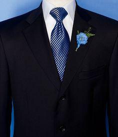 Men's Neck Ties in Dupioni | Royal blue tie, Black suits and Blue ties