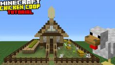 Minecraft Tutorial: How To Make A Chicken Coop