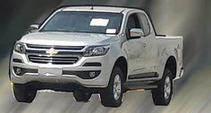 Facelifted 2017 Chevrolet S10 / Overseas Colorado Spied Undisguised #Brazil #Chevrolet