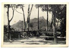 Antigo Cartão Postal: Mesa do Imperador na Floresta da Tijuca - Rio de Janeiro. BC.