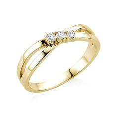 9ct Gold Diamond Caitlin Ring | 21DIAMONDS