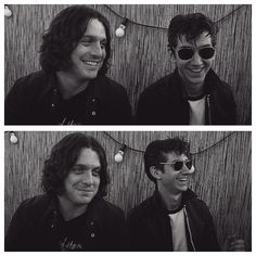 Look how cute they are #arcticmonkeys