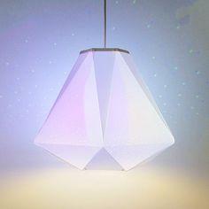CMYK Bulb + Socket Set + Shade by Dennis Parren | MONOQI #bestofdesign