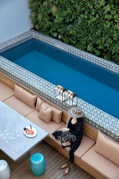 Marvelous Small Pool Design Ideas 1011
