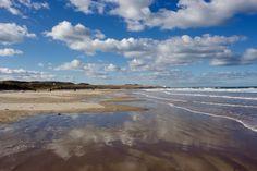 Bamburgh beach ⛅️