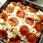 Pizza Pasta Casserole Bake II ~A slightly different version of the original. Easy and delicious!~