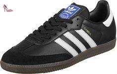adidas Samba, Sneakers Basses Mixte Adulte, Noir (Core Black/Footwear White/Gum), 40 EU - Chaussures adidas (*Partner-Link)