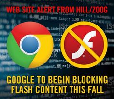 Are you prepared? Google Chrome will start blocking flash as part of the Chrome 53 update