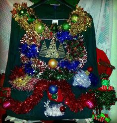 Check out this item in my Etsy shop https://www.etsy.com/listing/208698870/ugly-christmas-sweaterlight-uptrifecta