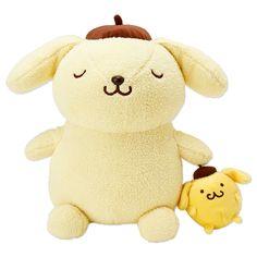 POMPOMPURIN x Mini Purin Plush Doll SANRIO JAPAN