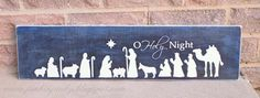 our life in a click: {Get Crafty}Nativity Scene Sign and Pass It On Giveaway