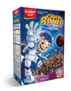 Choco Ronis Chocolate Cereal packaging.