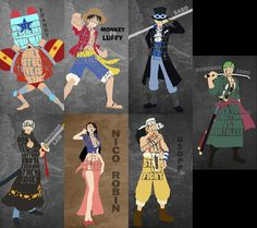 One Piece character quotes 2 by GrillPork