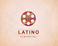 Latino film festival logo, taken from logopond.com. Lovely colours and simplistic, iconic symbol.