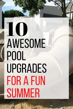 Whether you have an above ground pool or ground pool check out these awesome pool makeover ideas. Add a slide, deck or stairs for a much improved pool experience. #diy #pool #outdoorpool Above Ground Pool, In Ground Pools, Lounge Party, Stock Tank Pool, Diy Pool, Cool Pools, Pool Designs, Home Repair, Outdoor Pool