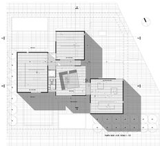 """Imagen 17 de 23 de la galería de Primer Lugar Concurso Nacional """"Museo de Arte Contemporáneo Argentino"""" / Monoblock. planta 2 Museum Architecture, Study Architecture, Scream Meme, Random Gif, Starter Home, Skyscraper, House Plans, Floor Plans, How To Plan"""