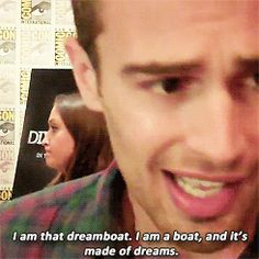 Theo is a dreamboat.... this is why I <3 him. :D