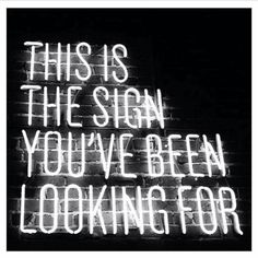 This is the sign you've been looking for ✨