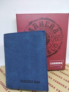 5be4e98e48 Portafoglio Portacarte Carrera Jeans Uomo Ragazzo Blu - Idea Regalo in  scatola