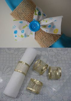Ideias de porta-guardanapos feitos com juta! - Blog Pitacos e Achados!  Acesse: https://pitacoseachados.wordpress.com-  #pitacoseachados