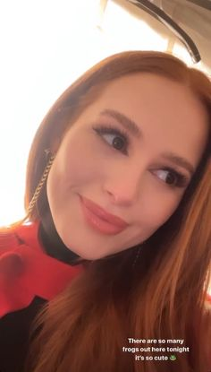 Madelaine Petsch, Cheryl Blossom Aesthetic, Cheryl Blossom Riverdale, Riverdale Aesthetic, Life Is Beautiful, Instagram Story, Besties, Lily, Actresses
