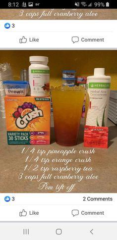 Herbalife Meal Plan, Herbalife Shake Recipes, Protein Shake Recipes, Herbalife Nutrition, Herbal Life Shakes, Herbal Tea Concentrate, Flavoured Green Tea, Raspberry Tea, Tea Drinks