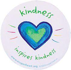 Kindness inspires kindness