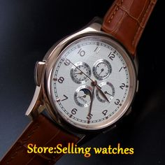Like and Share if you want this  44mm parnis white dial rose golden plated case automatic mens wrist watch     Tag a friend who would love this!     FREE Shipping Worldwide     Get it here ---> https://shoppingafter.com/products/44mm-parnis-white-dial-rose-golden-plated-case-automatic-mens-wrist-watch/