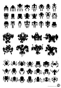 robot silhouette - Google Search