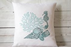 Marine Collection  16 Cushion Pillow Cover by DelightfulVintageUK