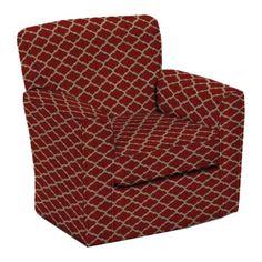 Swivel Chair in Correlate Red   Nebraska Furniture Mart