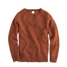 Boys' lambswool sweater