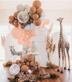 First Birthday Themes, Safari Birthday Party, Baby Party, Baby Birthday, Birthday Party Decorations, Baby Shower Parties, Baby Shower Themes, First Birthdays, Shower Ideas
