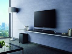 The hexagonal design of the Sony HTCT60 sound bar #Bestof2013