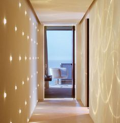 Not sure what I think of this hallway. But this might spark ideas for later.